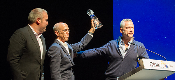 Jeffrey Katzenberg ontvangt Lifetime Achievement Award
